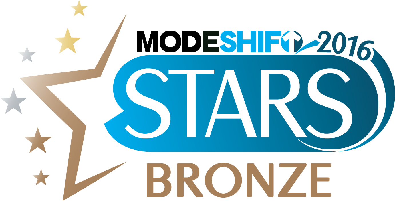 Modeshift stars award bronze